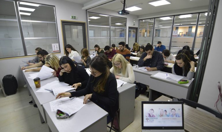 A test session on Russian as a Foreign Language and the final stage of the St. Petersburg State University Olympiad for schoolchildren and students in Thessaloniki are completed
